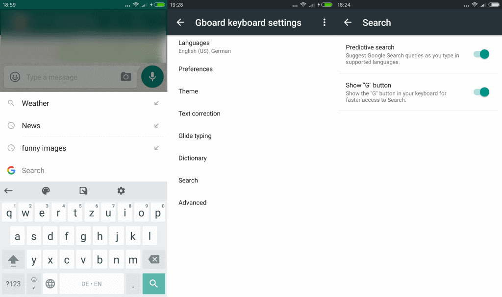 Google's keyboard app now available for Android