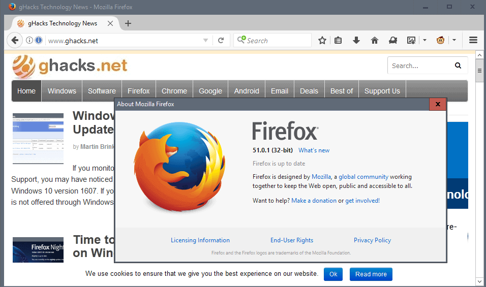 pocket add on firefox how to update tonew