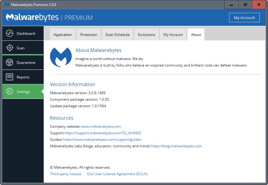 Malwarebytes 3 0 6 With Stability And Performance