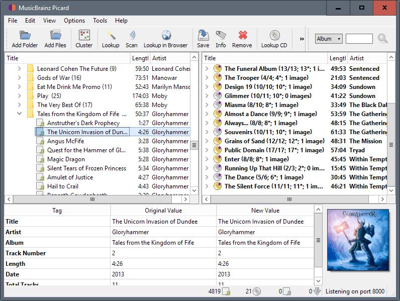 musicbrainz picard 1.4