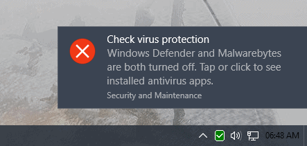 Disable Security Messages On Windows 10 Ghacks Tech News
