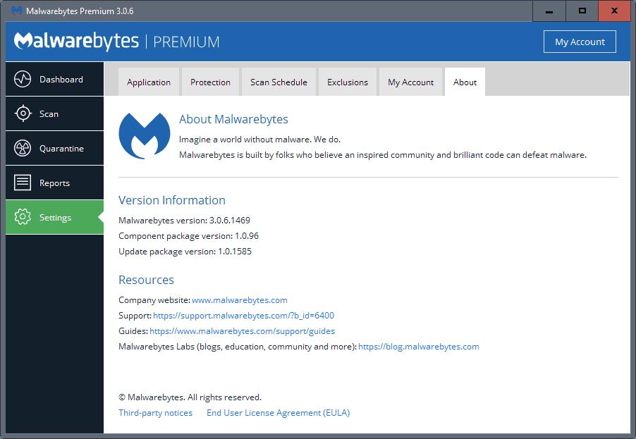 malwarebytes update