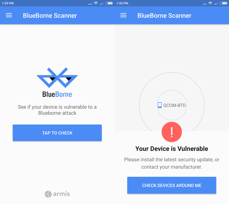 'BlueBorne' puts billions of Bluetooth-enabled devices at risk