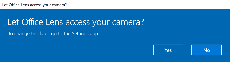 windows 10 permission prompts