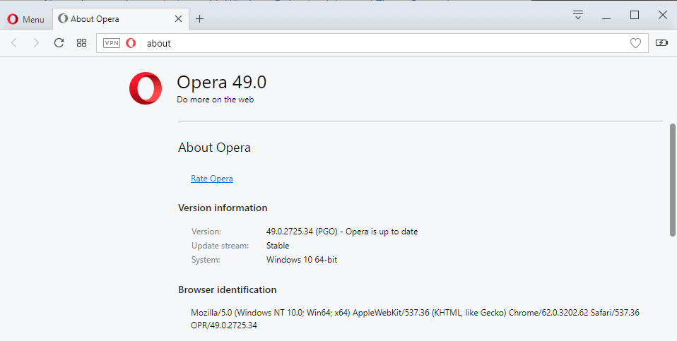 Opera adds new features to their browser