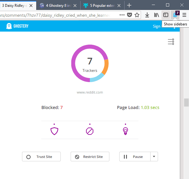 ghostery 8 simple