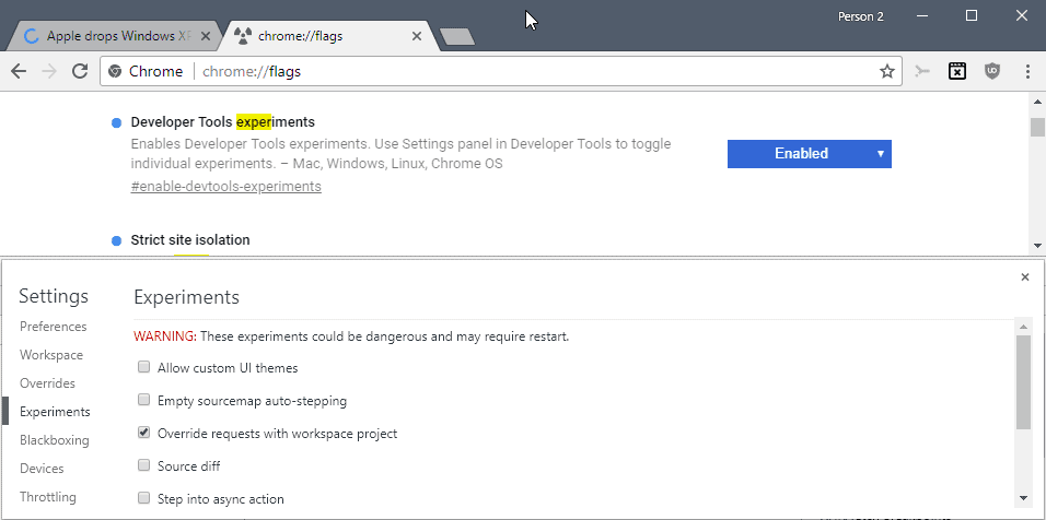 make permanent changes to web pages with chrome u0026 39 s overrides dev tool