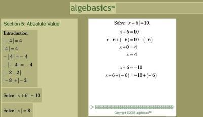 online help with algebra