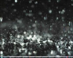 dreamscene falling rain background