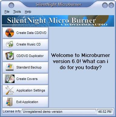 silentnight micro burner