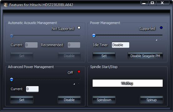 automatic acoustic management