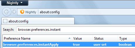 firefox options block window