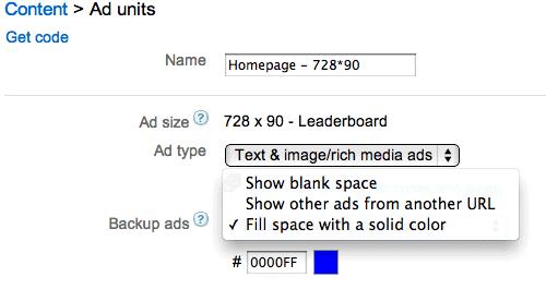 adsense-backup-ads