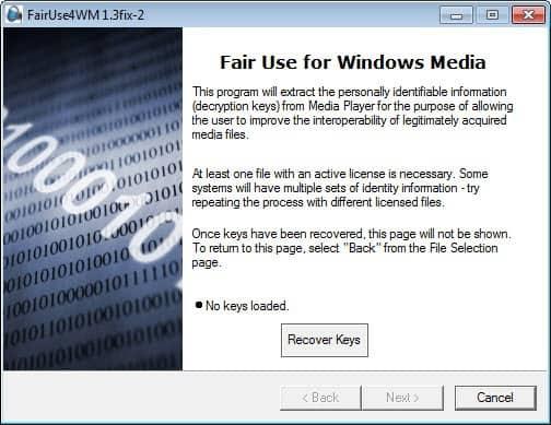 fair use for windows media