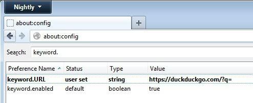 firefox search tips screenshot