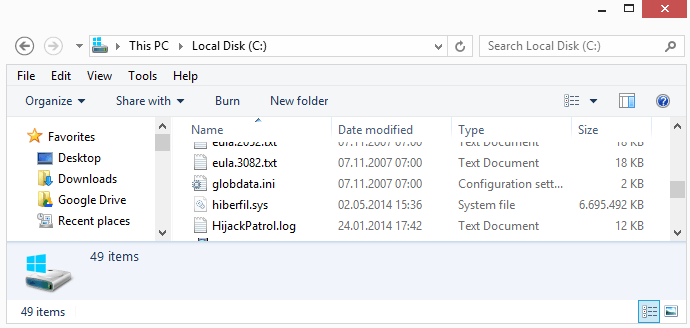 How to delete the large hiberfil.sys file on Windows