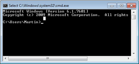 Change the default Command Prompt directory