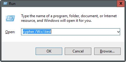 clear deleted files traces
