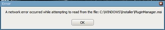 skype error plugin manager