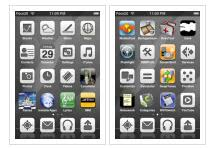 aibook iphone theme