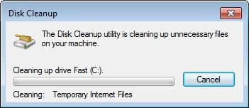 disk cleanup screenshot