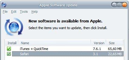 apple software updater