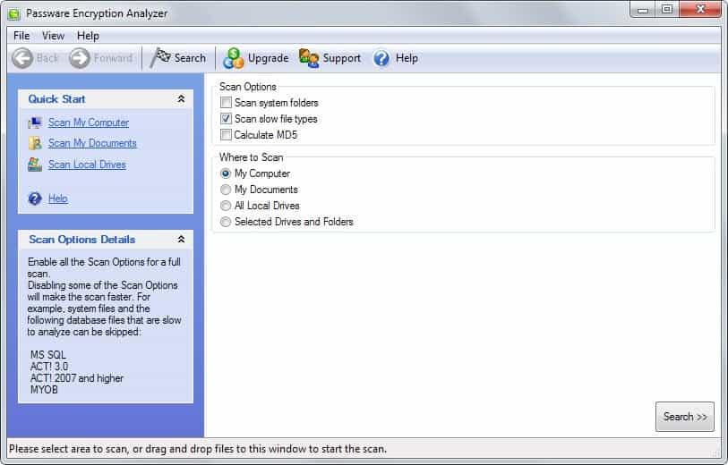 passware encryption analyzer