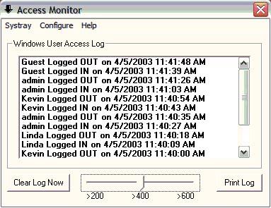 windows access monitor