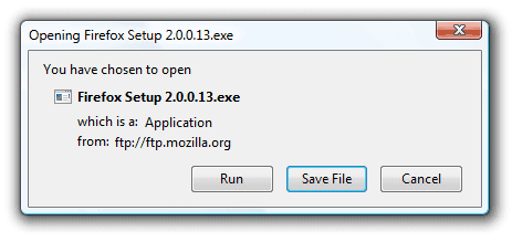 firefox run downloads