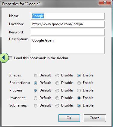 bookmark permissions