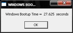 boot timer