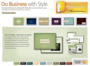 microsoft office design templates
