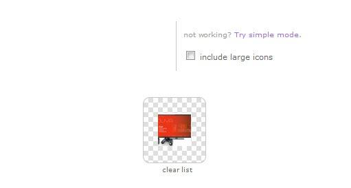 create icons screenshot