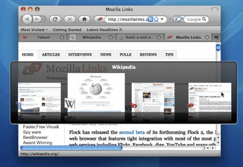Firefox ctrl tab