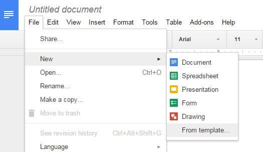 Google Docs Templates - gHacks Tech News