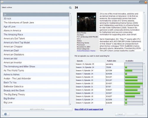 torrent episode downloader