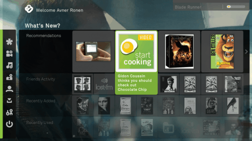 boxee home