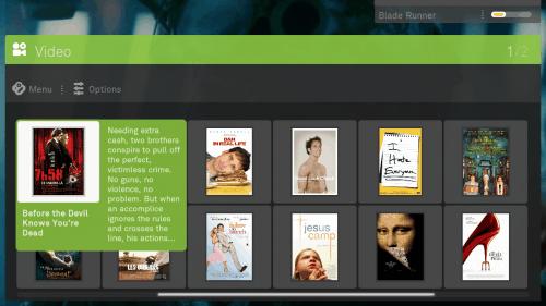 boxee video browsing