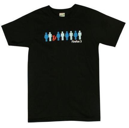firefox 3 t-shirt
