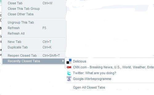 internet explorer undo close tabs