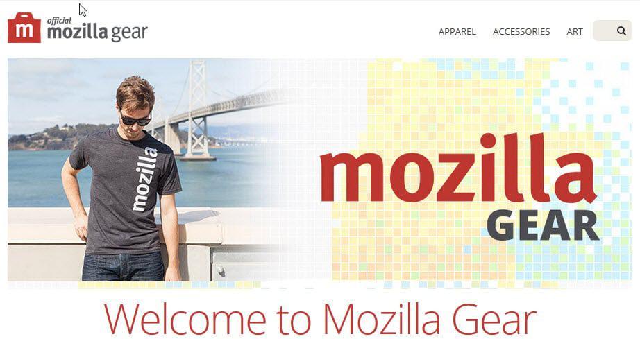 mozilla gear