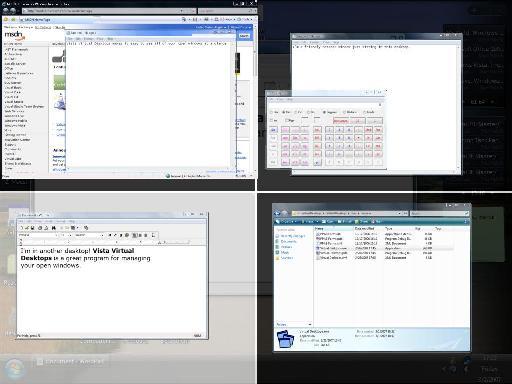 multiple desktops