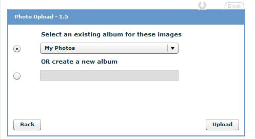 upload photos to myspace