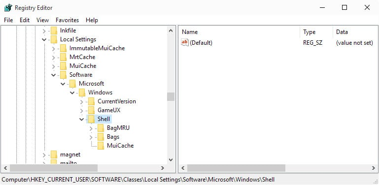 Fix Windows Vista Resetting Folder View Settings