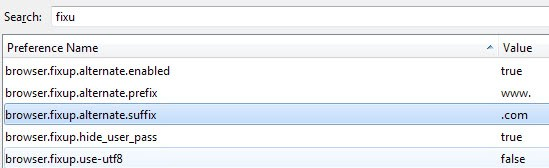 firefox browser auto complete