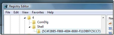 windows vista folder settings