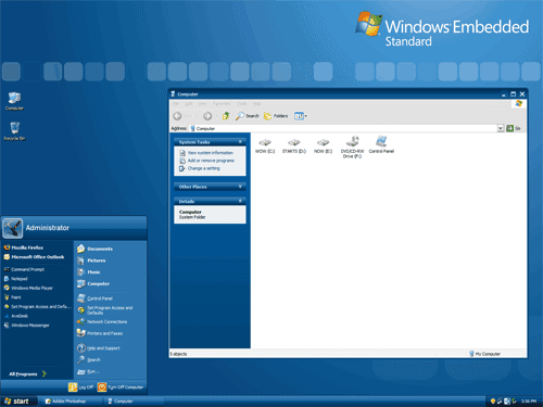 windows xp theme