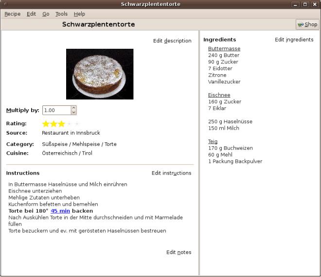 gourmet recipes