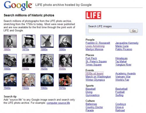 life photo archive online