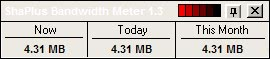 network bandwidth monitor
